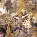 Ainsi Soient-Ils 1 . 146x97cm 2012 acrylique sur papier marouflé sur toile