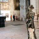 Jeanne d'Arc à Rouen - H: 170 cm - 2019 .