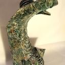 Femme Serpent - hauteur 59 cm - 2017
