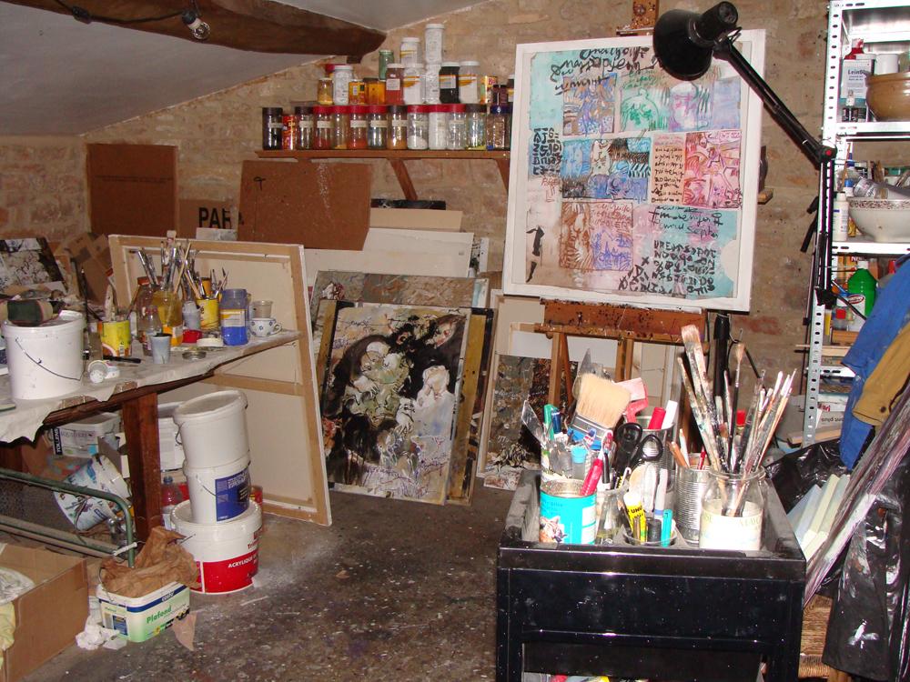 Atelier de peinture - 2016